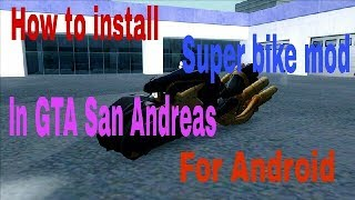 Download How To Install Ff7 Ac Bike Mod In Gta San Andreas