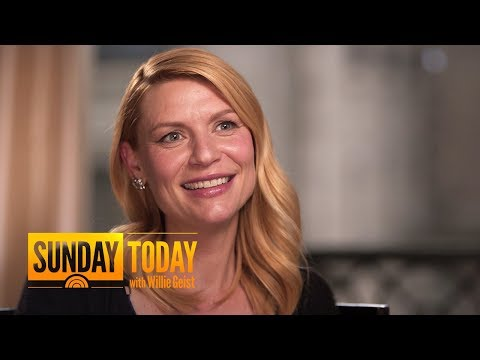 Claire Danes On How 'Homeland' Seems To Predict RealLife Events  Sunday TODAY