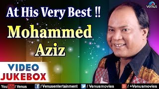 At His Very Best : Mohammed Aziz ~ Bollywood Hits || Video Jukebox