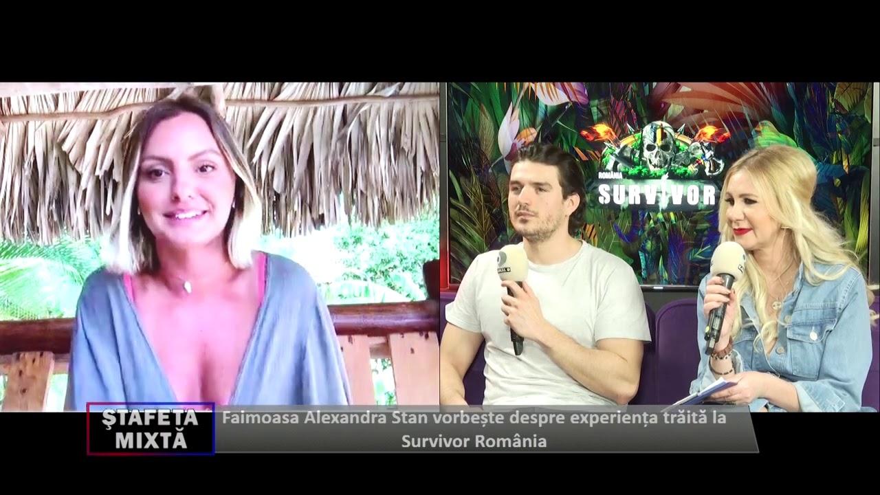 """Survivor! Alexandra Stan, dezvăluiri uluitoare din tabăra Faimoșilor: """"Bărbații erau niște..."""""""