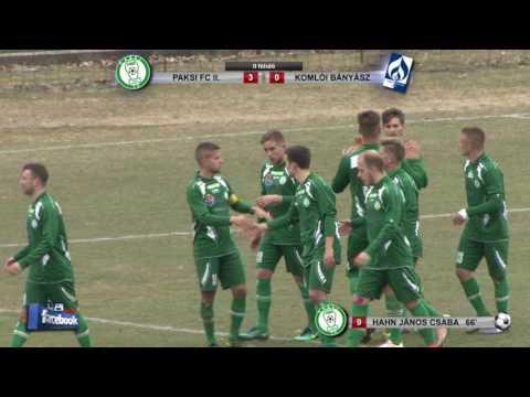 PAKSI FC II - SPORT 36 KOMLÓI BÁNYÁSZ    4 - 0 (1 - 0)