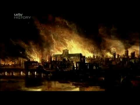 Peter Ackroyd's London: the great fire and bombing (part 1).