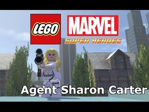 LEGO Marvel Super Heroes - Agent Sharon Carter Mod