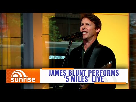 James Blunt Performs '5 Miles' Live On Australian TV | Sunrise