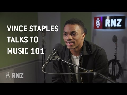 Vince Staples Interview w/ RNZ's Music 101