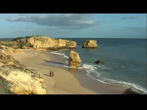 Portugal , ALgarve , praia de sao rafael