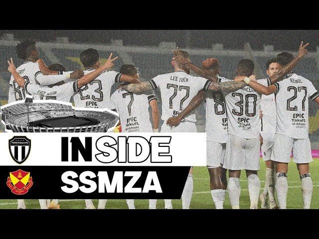 INSIDE #SSMZA : TERENGGANU FC vs SELANGOR FC #TMPialaMalaysia2021 #PM2