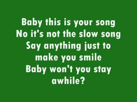 Spending All My Time - Aaron Fresh (Lyrics On Screen)