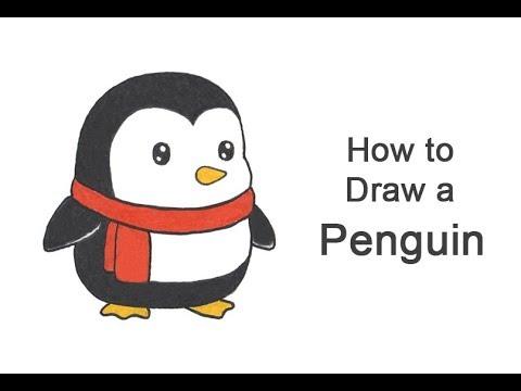 How To Draw A Penguin (Cartoon)