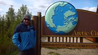 Arctic Circle Alaska via Ice Rd Truckers Route