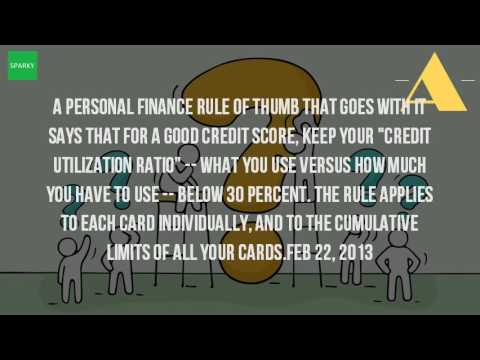 What Should You Keep Your Credit Card Balance At