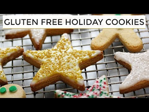 Gluten Free Sugar Cookies | Healthier Holiday Cookies