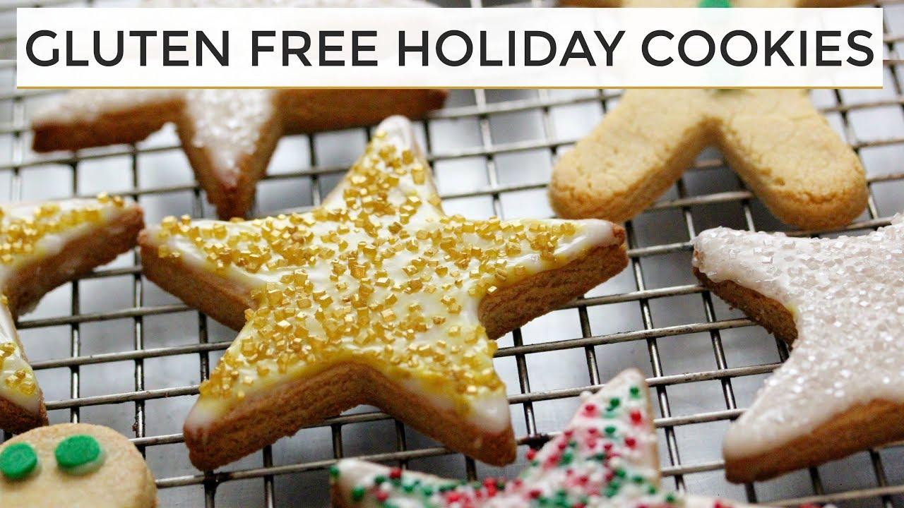 Gluten Free Sugar Cookies Healthier Holiday Cookies