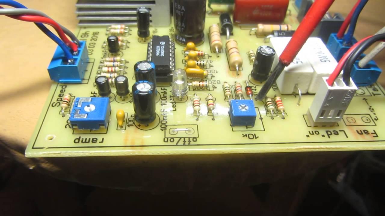 схема подключения пылесоса срегулятором оборотов
