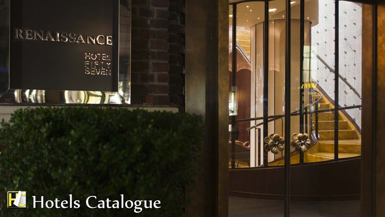 Renaissance New York Hotel 57 Hotel Tour - Luxury Boutique Hotels in Midtown New York - YouTube