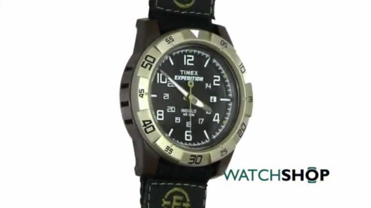 The Timex Men's Classic Watch features the Indiglo night light technology that illuminates the crisp black dial. This classic watch has an analogue display and is finished in a brown leather strap with contrasting white stitching.