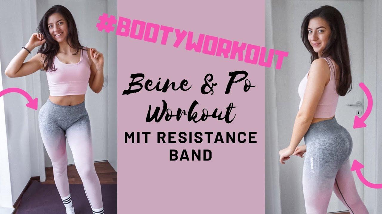 BOOTY WORKOUT - RUNDER PO MIT RESISTANCEBAND / TOP 5 PO
