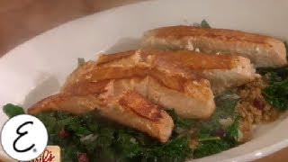 Grilled Salmon With Kale And Quinoa - Emeril Lagasse