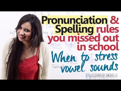 Spelling Unciation Rules You Missed Out In School