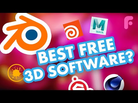 The Best Free CG 3D Software For Artists thumbnail