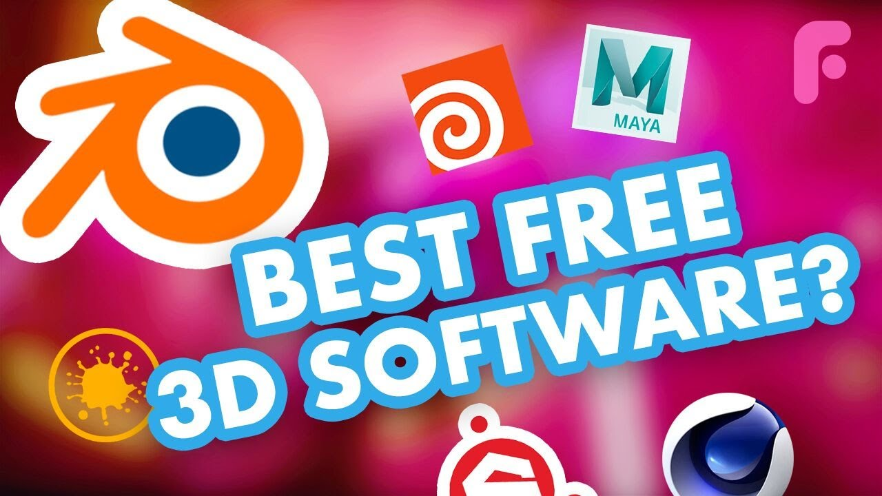 The Best Free Cg 3d Software For Artists Youtube
