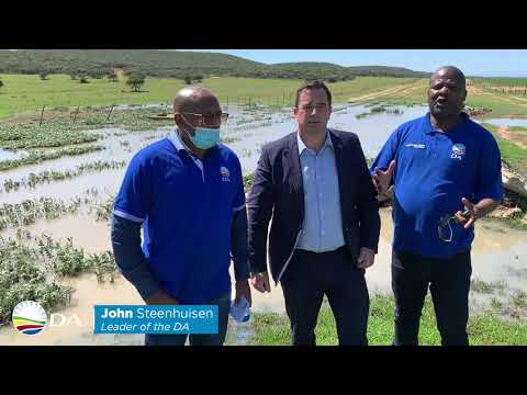 Uncaring and incompetent government should be blamed for Nelson Mandela Bay's water crisis.