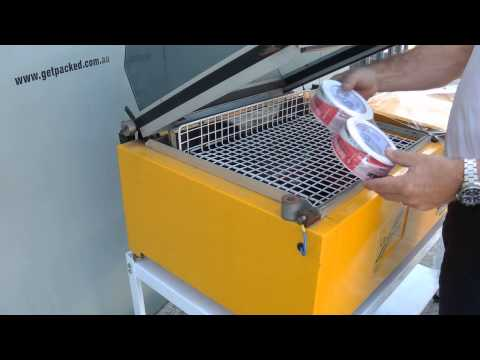 Shrink Wrapping Machine - TurboPack Shrink Wrapper