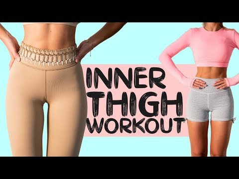 INNER THIGH BURN | Slim Toned Legs Workout | 10 mins at Home
