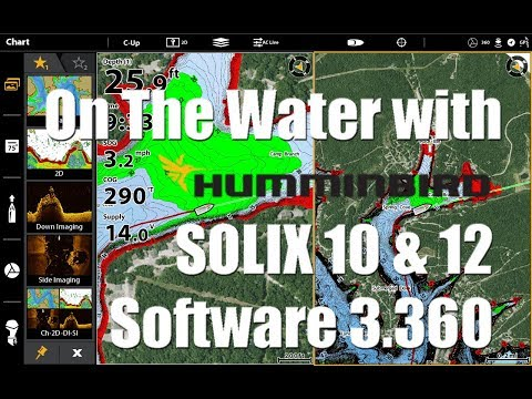 Tips 'N Tricks 231: On the Water with Humminbird SOLIX Software 3.360