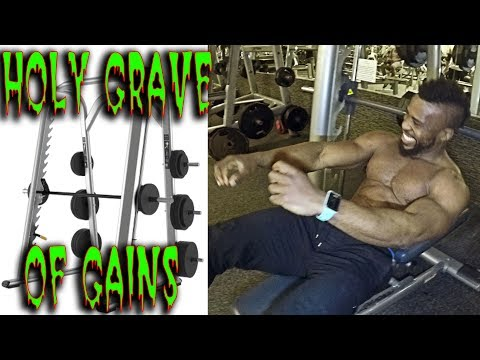 USE THE SMITH MACHINE | TO BUILD MUSCLE FAST