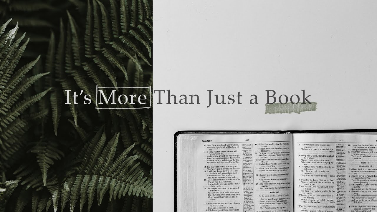 It's More Than Just A Book Pt  2: Power in HIS Word