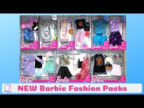 Haul: New Barbie Fashion 4 | Career | Summer Outfits | Ropa de Barbie 🛍