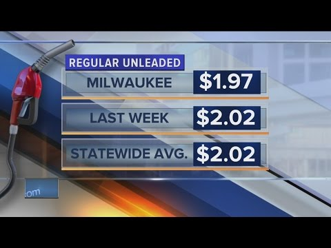 Gas prices plunge below $2 per gallon in parts of Wisconsin