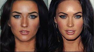 Megan Fox Makeup Tutorial  / Как сделать макияж  Меган Фокс