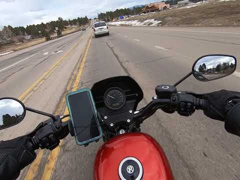 Harley Davidson Sporster 883. Pagosa Springs. Co.