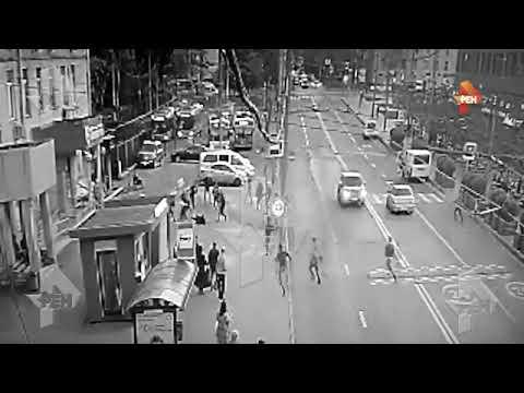 Массовая драка со стрельбой в Москве попала на видео