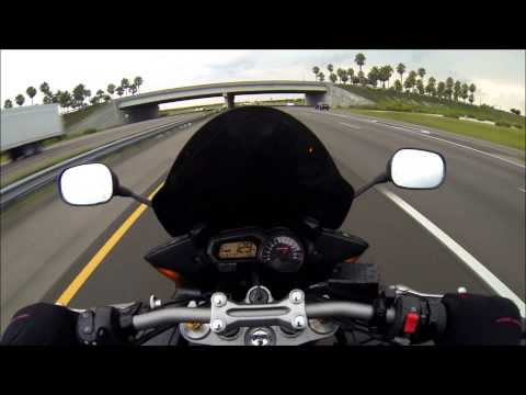 Yamaha FZ1 125mph+ | How to make your check engine light turn on