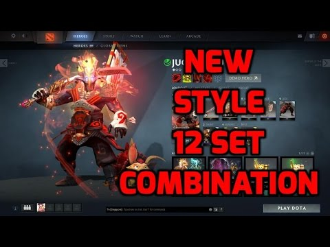 Dota 2 Juggernaut Arcana Origins NEW STYLE With 7 Complete