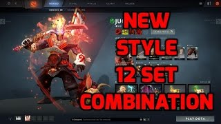 Dota 2 Juggernaut Arcana Origins NEW STYLE with 7 complete set + few combination