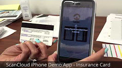 ScanCloud iPhone Demo App - Insurance Card