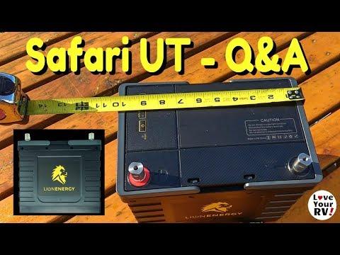 Lion Energy Safari UT Battery - Q & A