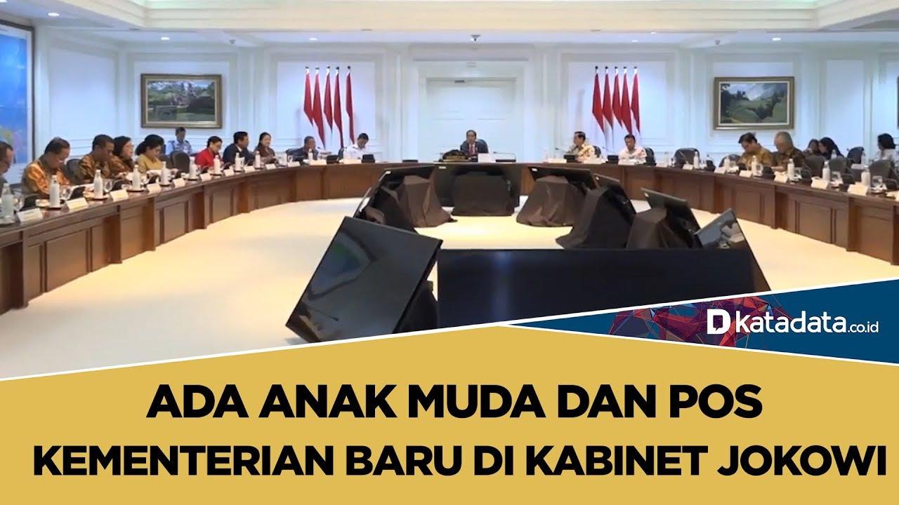 Ada Anak Muda dan Pos Kementerian Baru di Kabinet Jokowi | Katadata Indonesia