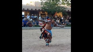 NM State Fair - Indian Village - Fernando Cellicion - Zuni Dancers - Eagle Dance