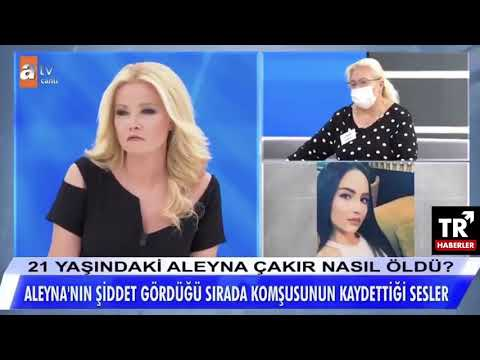 Aleyna Çakır'ın yardım çığlıklarının olduğu ses kaydı Müge Anlı'da ortaya çıktı