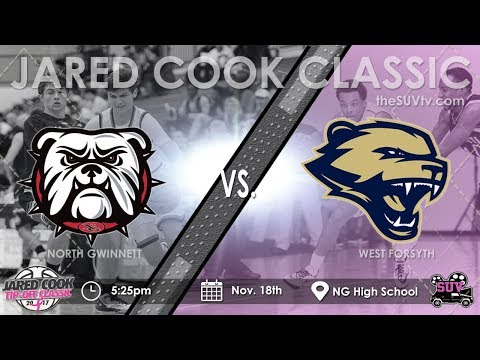 2017 Jared Cook Tip-Off Classic: North Gwinnett vs. West Forsyth