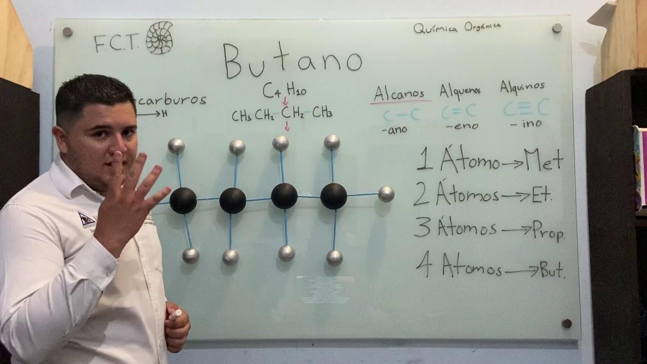 Download Molécula del Butano