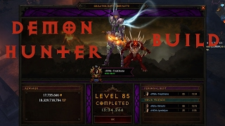 diablo iii demon hunter multishot build guide