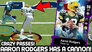 AARON RODGERS IS A GUNSLINGER! THROWING DIMES! Madden 20 Ultimate Team
