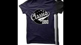 Made in 1990 T Shirts