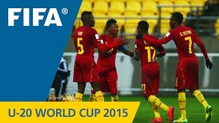Argentina V. Ghana - Match Highlights Fifa U-20 World Cup New Zealand 2015